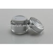 15ml 30ml 50ml Double Wall Plastic Acrylic Cosmetics Cream Empty Jar