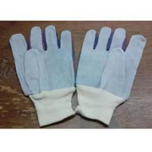 Manoplas de trabajo de vaca cuero cuero guantes de trabajo