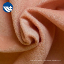 tissu de corail boucle velours housse en tissu tricot