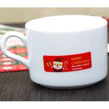 Custom Christmas Paper Seal Decor Adhesive Label Aticker
