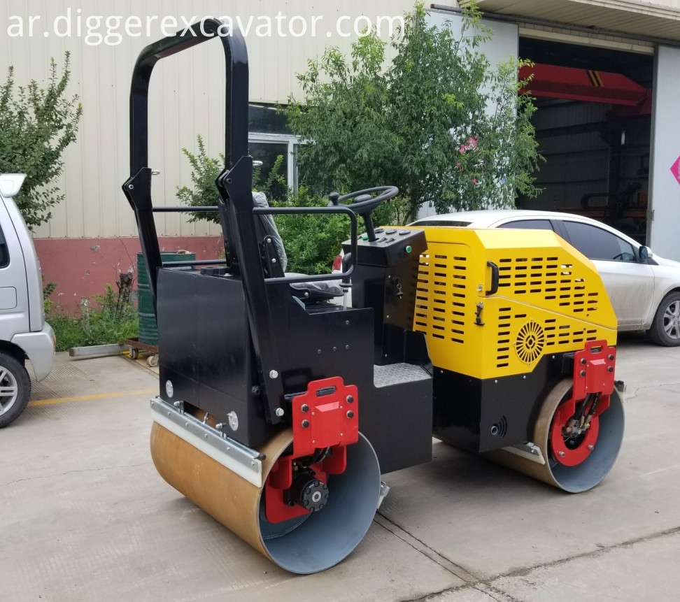 Full Hydraulic Road Construction Roller
