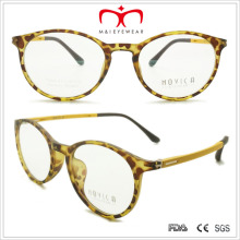 Retro Tr90 Unisex Reading Glasses with Spring Temple (7207)