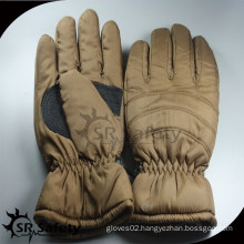 SRSAFETY cool brown ski gloves at cheapest price
