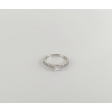 s925 sterling silver diamond ring engagement anniversary popular wholesale ladies ring