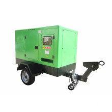 Super Silent Diesel Generator for Telecom Application