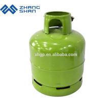 Réservoir de gaz matériel de GPL de propane vide avec la tête de valve et de brûleur