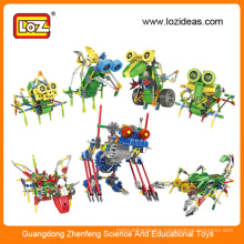 LOZ electric robot kit,educational robot, plastic robot kits
