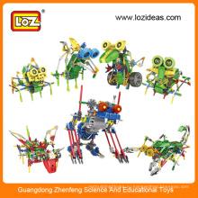 Комплект электрических роботов LOZ, учебный робот, комплекты пластиковых роботов