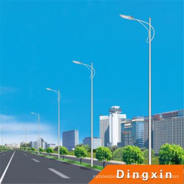 Lampadaire LED 10 m avec lampes LED 120 W