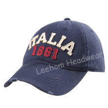 (LW15031) Custom Stone Washed-out Cotton Cap