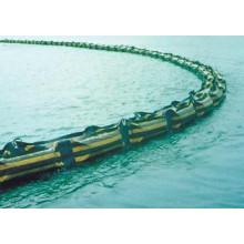 Boom de PVC d'huile de caoutchouc de protection de l'environnement