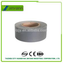 bandas reflectantes para ropa gris T/C de tela