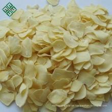 Chinesisches getrocknetes Gemüse dehydrierte Knoblauchflockenscheibe