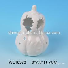 Оптовая белый тыквы Хэллоуина фарфора белый, керамические украшения Хэллоуин