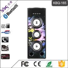 BBQ KBQ-165 25 Watt 3000 mAh Bluetooth Mini Subwoofer Lautsprecher