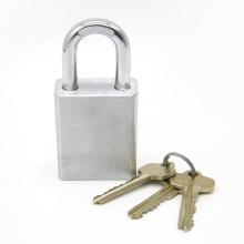 Safety Hardened Shackle Brass SFIC Padlock for Door