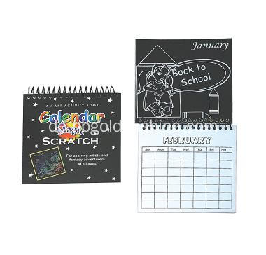 Magic Scratch Kunst Kalender