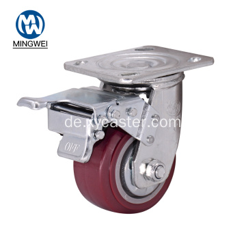 PVC Heavy Duty Total Lock Caster