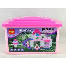 127PCS DIY Prinzessin Block Building Spielzeug für Kinder