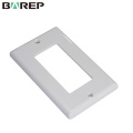 Living room electrical equipment GFCI white light switch covers