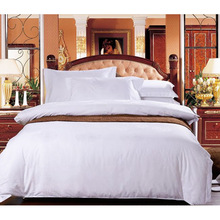 New Collection Bed Modern Style Bed Plain White Hotel/Home Bedding Linen (WS-2016230)