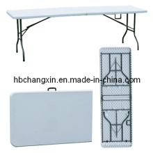 Hot Selling 8ft Rectangle Plastic Folding Table