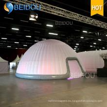 LED Eventos Fiesta Decoración de Boda Grandes tiendas Carpa Militar Ejército Inflable Dome tienda