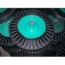 16 inch high quality solid rubber wheels