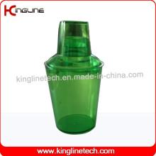 Abanador de cocktail de plástico de 535 ml (KL-3060)