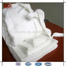 Wholesale Shawl Collar Luxury 100% Cotton w Hotel Bathrobe