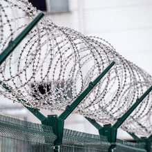 Razor Barbed Wire 18 inches 5 Coil 50 Feet Per Roll 250 Feet