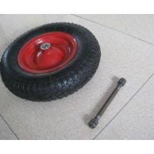 carretilla neumático 4.00-8 goma rueda