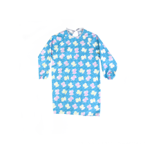Bib Baby Blue Apron With Sleeves