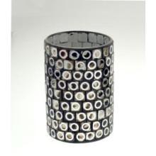 Новый дизайн стеклянной мозаики Подсвечник Holder Cylinder