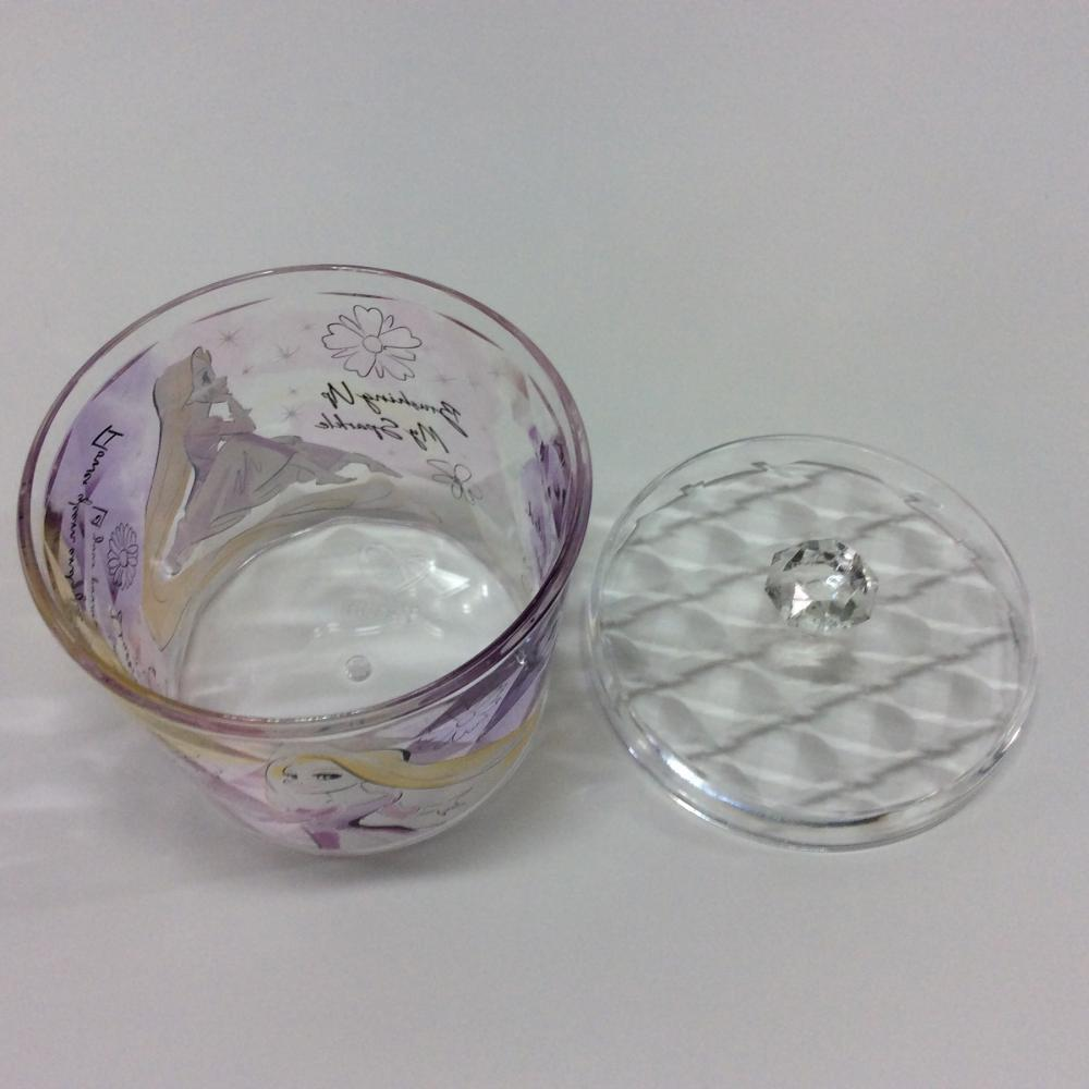 plastic round-shaped storage box