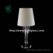Single Glass Candle Holder for Party Decoration with Lamp (DIA9*27)