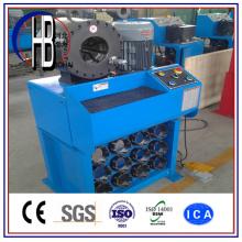 Máquina de friso universal da mangueira do PLC da ferramenta da mudança rápida