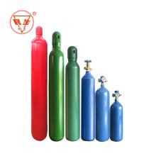 Oxygen gas cylinder tank with regulators flowmeter