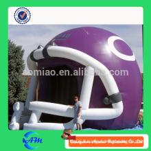 Nouveau Tunnel gonflable Tunnel Tent Type de casque gonflable Tunnel gonflable à vendre