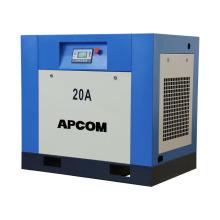 APCOM Rotary Screw compressor industrial Screw Air Compressor 15kw 20hp 10bar 220v screw air compressor