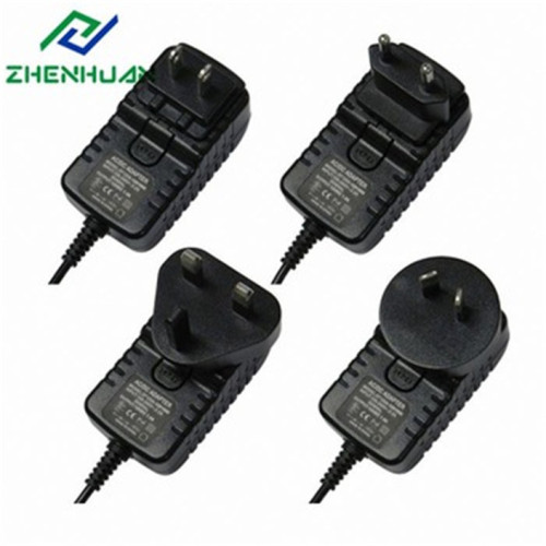 30W 12V 2.5A Multi Travel Adapter strømforsyning
