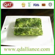 Blocked Frozen Cut Leaf Spinach