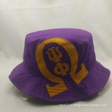 Любовь цвета пользовательских рыбацкие шляпы с вышивкой, ведро шляпы с большой цене