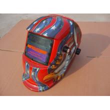 Red Fashion design Casque de soudure de sécurité Filtre Sts2