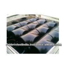 T de reducción de rosca de acero al carbono