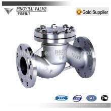 Válvula de retenção de aço inoxidável dn80 pn16 wate pipe