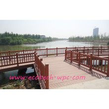 Composite Floating Port Decking Balcony Commercial WPC Fencing
