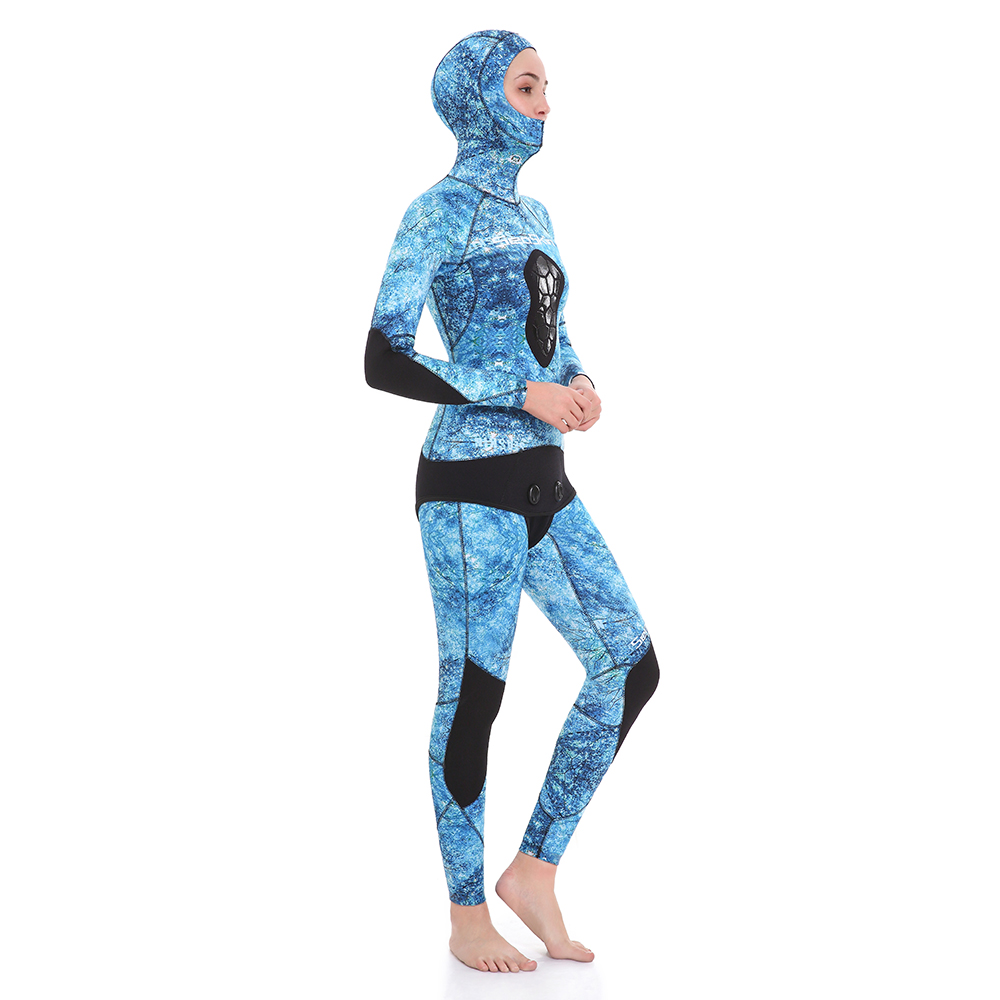 Blue Spearfishing Wetsuit
