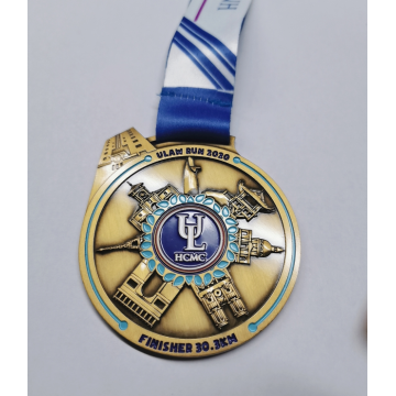 Custom School Running Sport Finisher Medaille