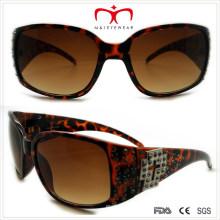 Пластиковые женские солнцезащитные очки с горный хрусталь (WSP508362)
